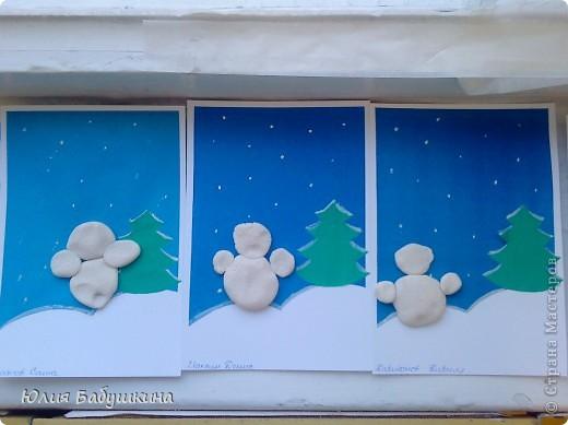 снеговик фото 7