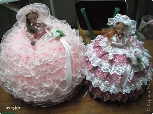 Куклы Мастер-класс 8 марта Валентинов день День рождения День семьи Новый год Шитьё Мои шкатулки Барби обещанный МК фото 1