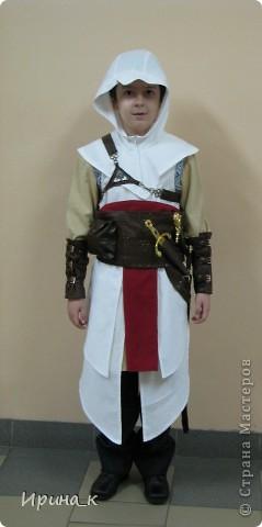 Как сделать костюм ассасина 179