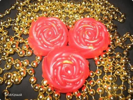 Роза с блестками... С эм розового дерева, запах обалденный. фото 1