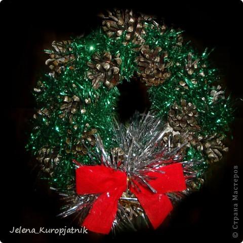 Вот и мои Рождественские венки))))) фото 1
