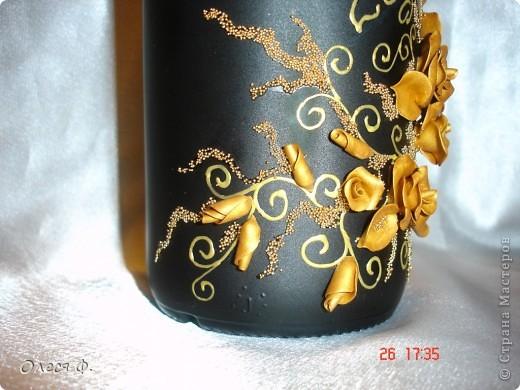 Вот такая бутылочка родилась на юбилей совместной жизни для знакомых.  фото 3