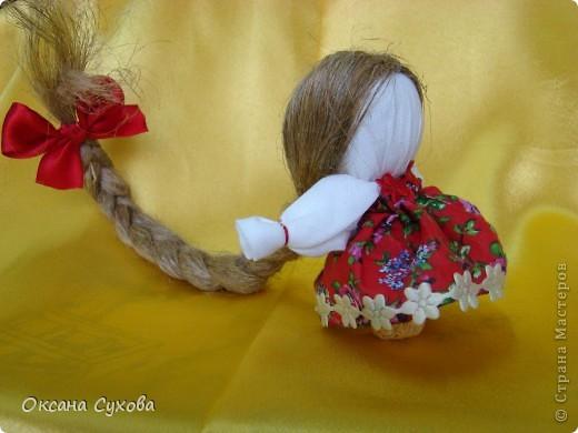 Кукла оберег на счастье своими руками из ткани 41
