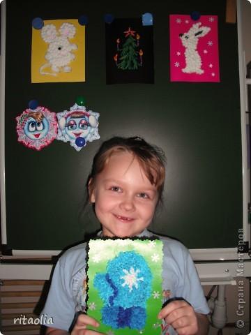 """Эту работу Сонечка Лысова, ученица 1 класса """"А"""" делала несколько дней. фото 4"""