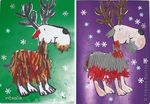 На этих оленях приедет Дед Мороз ... фото 1