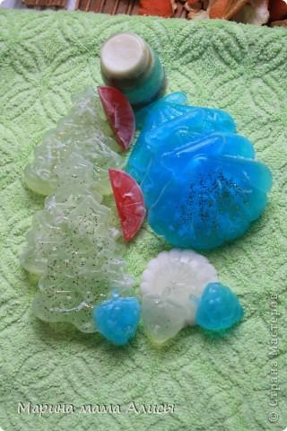 Мыльные камушки с ароматом лаванды. фото 4