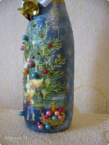 Еще бутылочки к Новому году фото 2