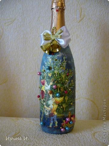 Еще бутылочки к Новому году фото 1