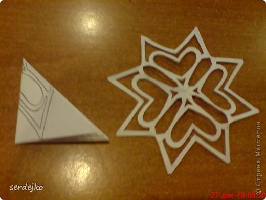 Малая часть моих снежинок ) шаблончики и мои, и сповторюшничала ) фото 4