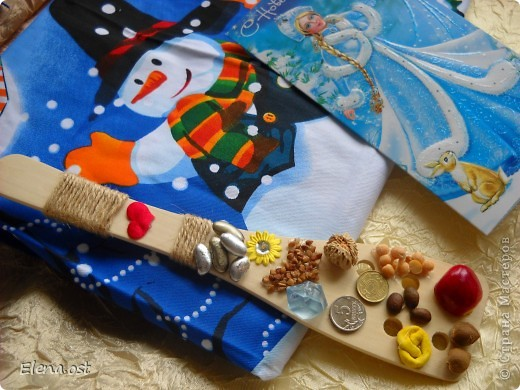 Спасибо Елене Базаровой http://stranamasterov.ru/user/9761 за приятный сюрприз!!! Тепло и добро излучает подарок. Теперь у меня дома маленькая частичка ХМАО Югра. Благодаря Стране Мастеров мы смогли обменяться с Леночкой подарками.  фото 1