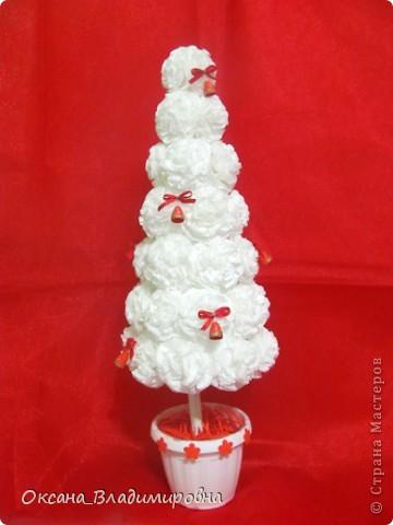 Наташенька, большое вам спасибо за чудесную елочку в белом, очаровалась поделкой и сегодня сотворила ей подружку Зефиренку )))  http://stranamasterov.ru/node/123170 Колокольчики квиллинг.    фото 1