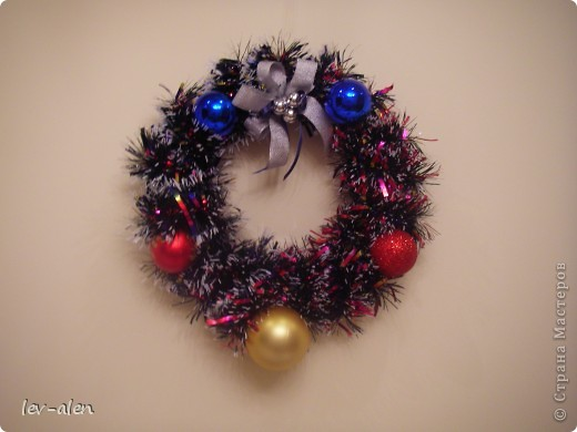 """Ассамбляж - Рождественский венок """" Поиск мастер классов, поделок своими руками и рукоделия на SearchMasterclass.Net"""