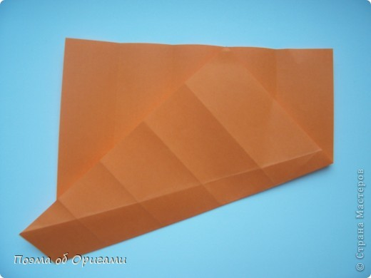 Деление квадрата на равные части - это всегда лишь подготовительный этап к складыванию. Однако без определенных навыков, как раз он и может оказаться достаточно сложным, особенно если количество частей, является простым числом:3, 5, 7, а так же 9. Об этом поподробнее. фото 24