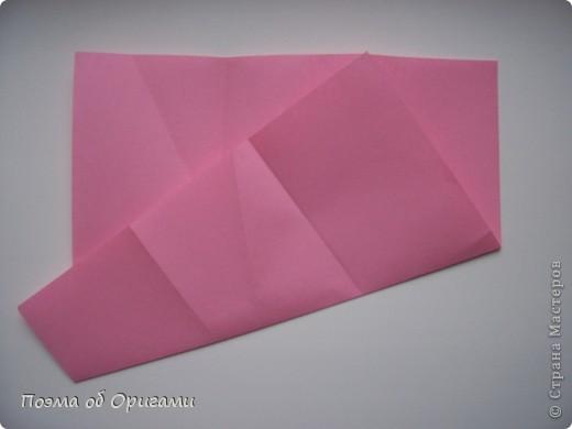 Деление квадрата на равные части - это всегда лишь подготовительный этап к складыванию. Однако без определенных навыков, как раз он и может оказаться достаточно сложным, особенно если количество частей, является простым числом:3, 5, 7, а так же 9. Об этом поподробнее. фото 39