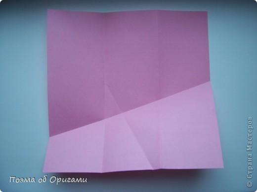 Деление квадрата на равные части - это всегда лишь подготовительный этап к складыванию. Однако без определенных навыков, как раз он и может оказаться достаточно сложным, особенно если количество частей, является простым числом:3, 5, 7, а так же 9. Об этом поподробнее. фото 40