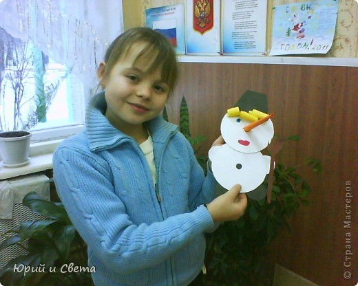 """Весёленький снеговичок"" фото 2"