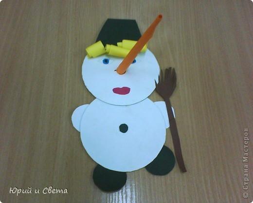 """Весёленький снеговичок"" фото 1"