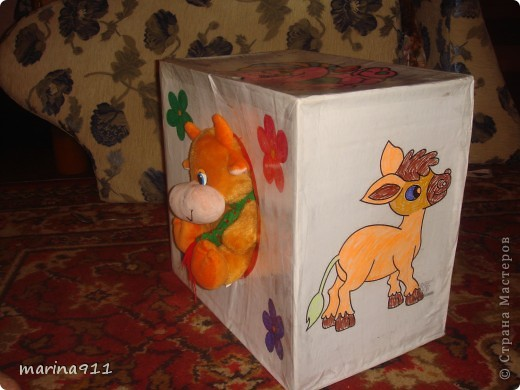 домик для игрушек,вид спереди фото 2