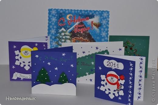 Вот такие открытки у меня получились :) фото 1
