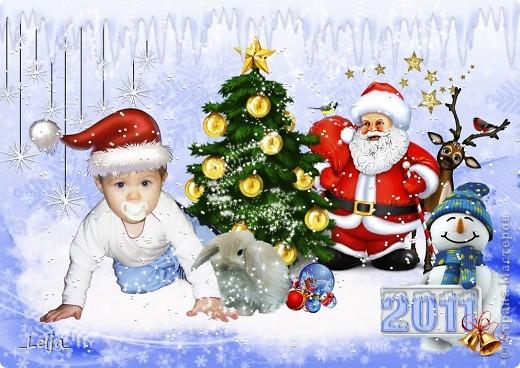 Коллажи для календаря с моим племянником в стиле скрап, надеюсь вам тоже понравятся! фото 1