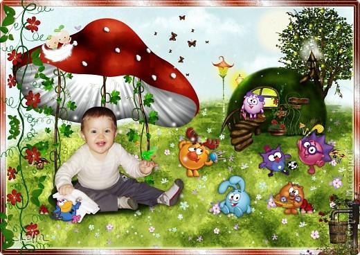 Коллажи для календаря с моим племянником в стиле скрап, надеюсь вам тоже понравятся! фото 3