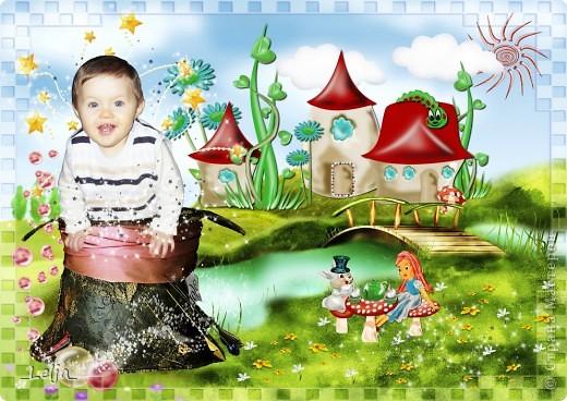 Коллажи для календаря с моим племянником в стиле скрап, надеюсь вам тоже понравятся! фото 5