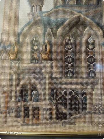 Вышивка крестом Мечеть