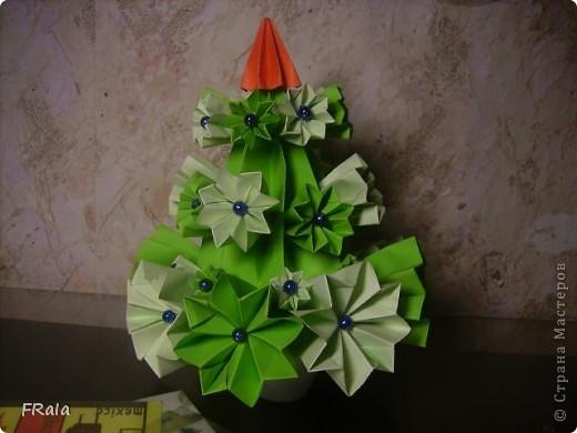 Ёлка-оригами фото 1