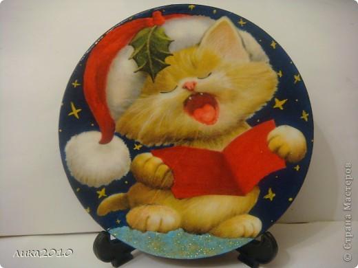 Небольшой подарочек коллеге, любительнице котиков . фото 1