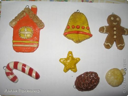 мои солёные игрушки на ёлку фото 1