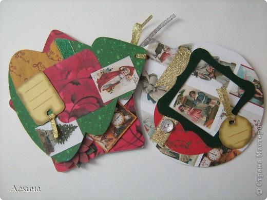 Альбомчик делала по этому МК http://scrap-info.ru/myarticles/article_storyid_288.html, правда у меня не было готовых фигур звезды,елки и шара,пришлось самой нарисовать и вырезать из твердого картона. фото 4
