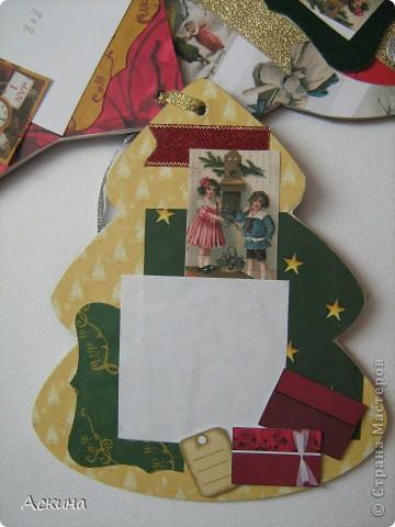 Альбомчик делала по этому МК http://scrap-info.ru/myarticles/article_storyid_288.html, правда у меня не было готовых фигур звезды,елки и шара,пришлось самой нарисовать и вырезать из твердого картона. фото 6