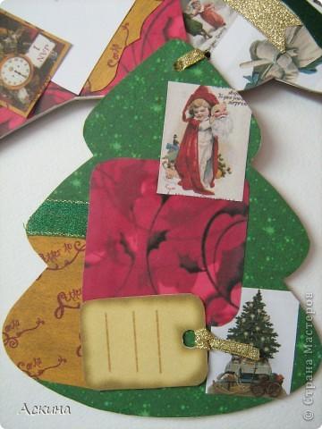 Альбомчик делала по этому МК http://scrap-info.ru/myarticles/article_storyid_288.html, правда у меня не было готовых фигур звезды,елки и шара,пришлось самой нарисовать и вырезать из твердого картона. фото 7
