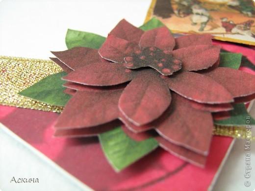 Альбомчик делала по этому МК http://scrap-info.ru/myarticles/article_storyid_288.html, правда у меня не было готовых фигур звезды,елки и шара,пришлось самой нарисовать и вырезать из твердого картона. фото 11