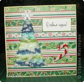 Здравствуйте! У меня опять открытки новогодние. Думаю, что последние в этом году. Поздравляю всех жителей страны с Новым годом! фото 2