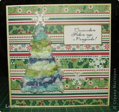 Здравствуйте! У меня опять открытки новогодние. Думаю, что последние в этом году. Поздравляю всех жителей страны с Новым годом! фото 1