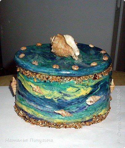 МК по изготовлению шкатулки можно посмотреть здесь: http://stranamasterov.ru/node/126357. фото 1