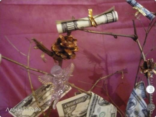 Вот токое денежное дерево я решила сделать для своего любимого человека... фото 7