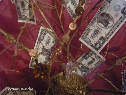 Вот токое денежное дерево я решила сделать для своего любимого человека... фото 8