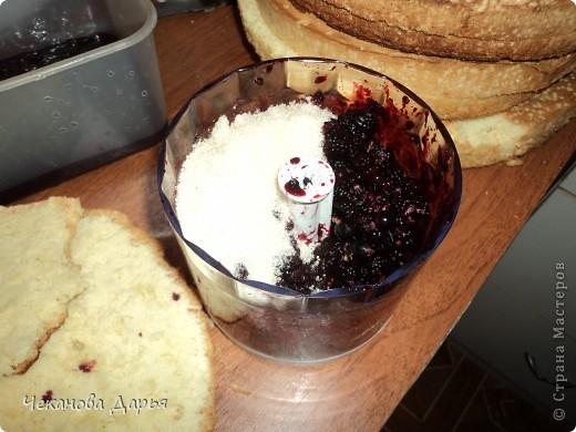 Здравствуйте это мой первый МК! Я расскажу как я делаю вкуссный тортик из бисквита, который так любит вся моя семья! И готовить его не трудно! фото 6