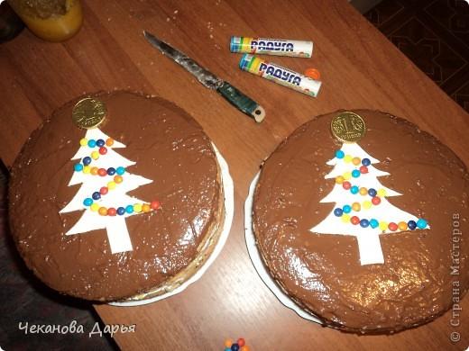 Здравствуйте это мой первый МК! Я расскажу как я делаю вкуссный тортик из бисквита, который так любит вся моя семья! И готовить его не трудно! фото 1