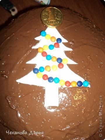 Здравствуйте это мой первый МК! Я расскажу как я делаю вкуссный тортик из бисквита, который так любит вся моя семья! И готовить его не трудно! фото 19