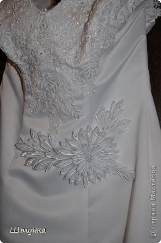 Цветочек для свадебного платья. фото 2