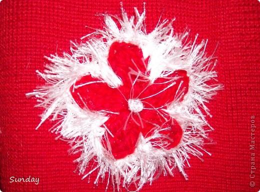 Связала 4 цветочка по МК Голубки http://stranamasterov.ru/node/93252  и обвязала травкой. фото 1