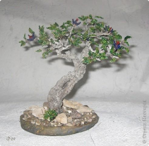 Очень хочется туда, где  +30  и выше , потому вот такое дерево вышло , с мыслями об Индии :)))  фото 8