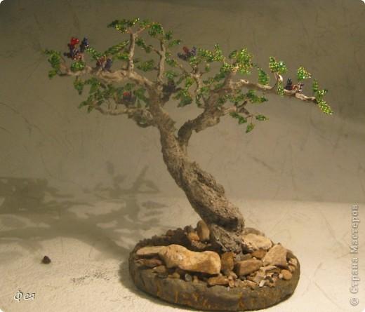 Очень хочется туда, где  +30  и выше , потому вот такое дерево вышло , с мыслями об Индии :)))  фото 4