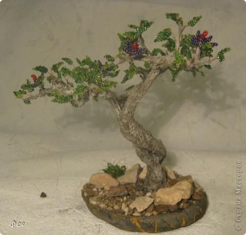 Очень хочется туда, где  +30  и выше , потому вот такое дерево вышло , с мыслями об Индии :)))  фото 5