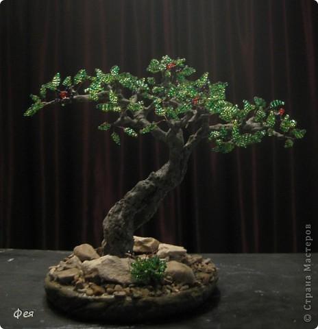 Очень хочется туда, где  +30  и выше , потому вот такое дерево вышло , с мыслями об Индии :)))  фото 7