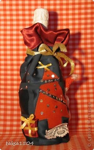 Вот такие праздничные мешочки я сшила в подарок своим близким и друзьям фото 2
