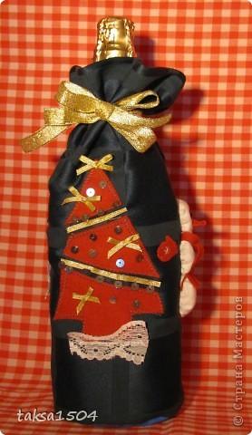 Вот такие праздничные мешочки я сшила в подарок своим близким и друзьям фото 4